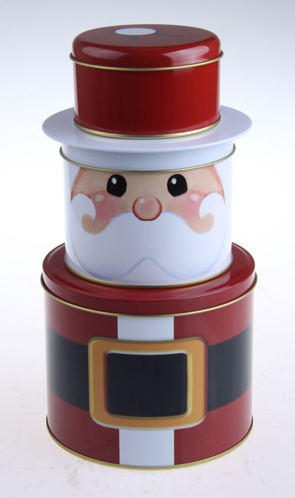 Christmas Tins - Set of 3