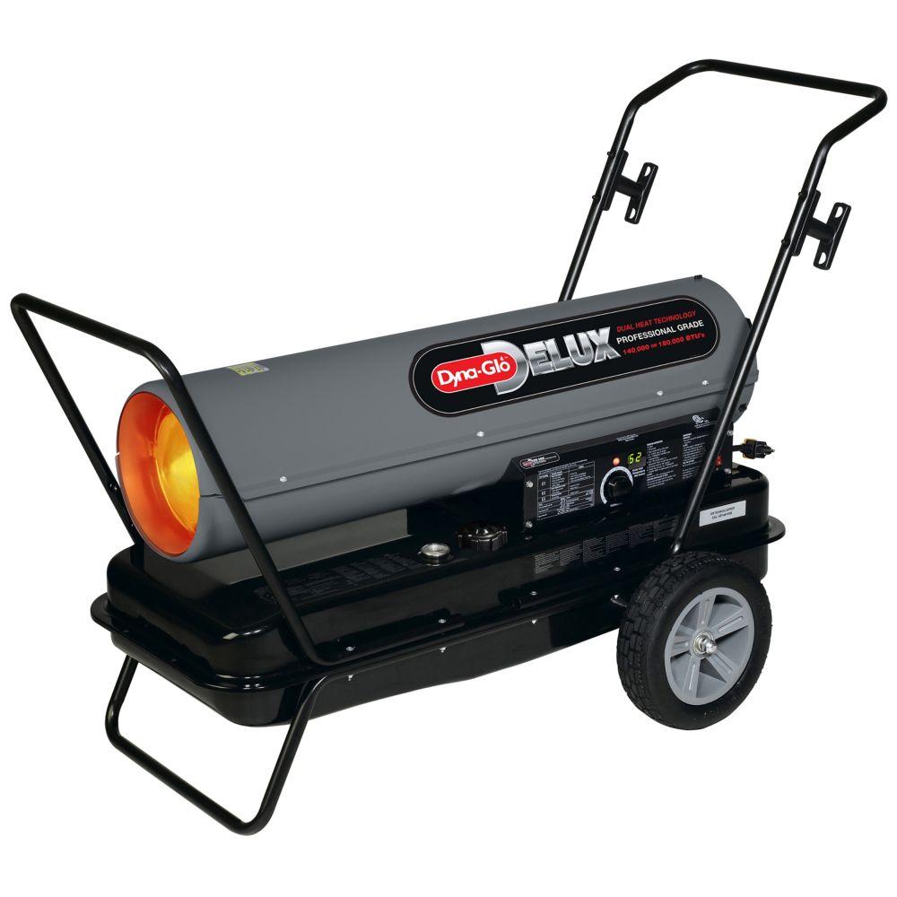 KFA180DGD 140K Or 180K BTU Kerosene Forced Air Heater