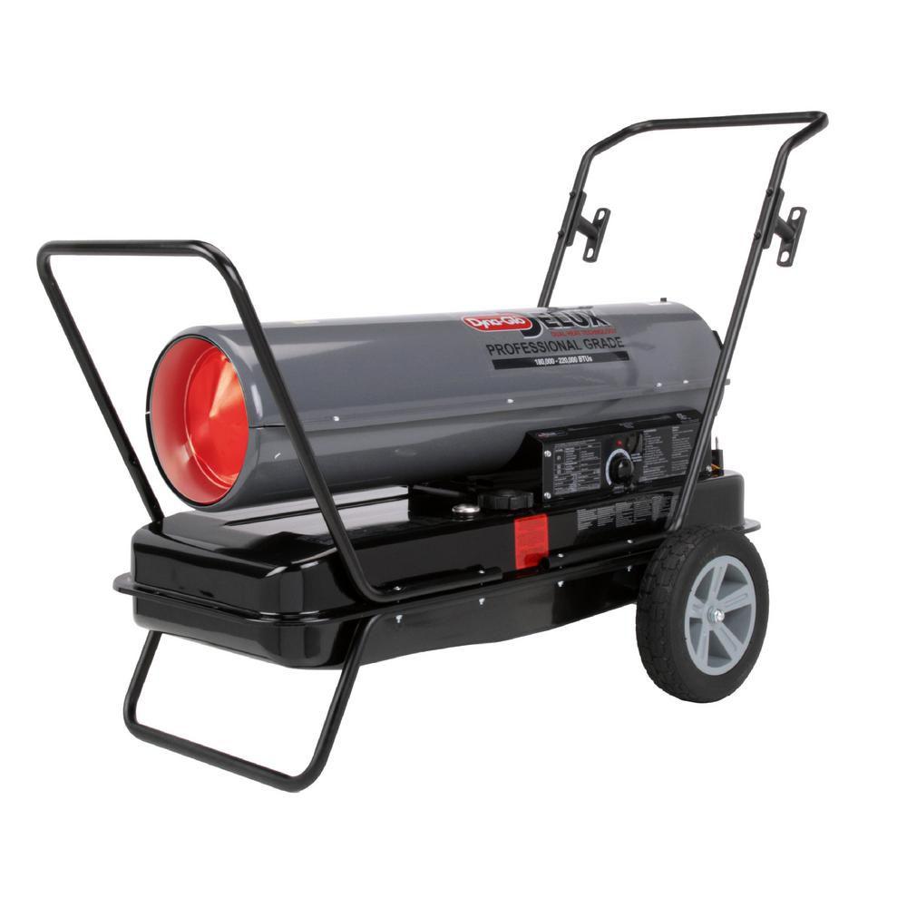 Dyna-Glo Delux 180K Or 220K BTU Kerosene Forced Air Heater