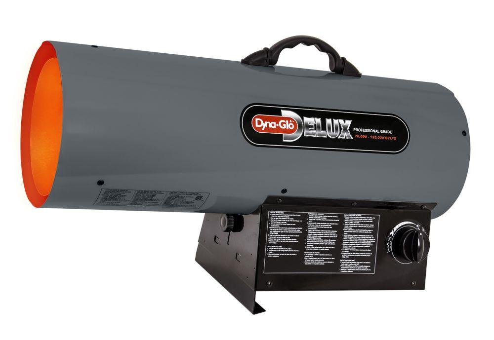 Dyna-Glo Delux 70,000 - 125,000 BTU Propane Forced Air Heater