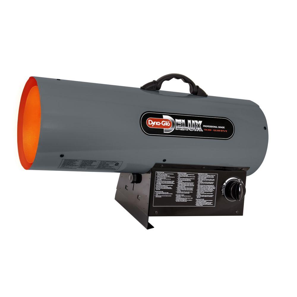 Dyna-Glo Delux Professional Grade 120k - 150k BTU Liquid Propane Forced Air Heater