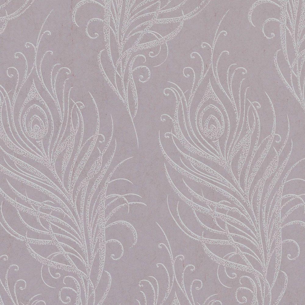 Quill Mulberry Artisan Wallpaper