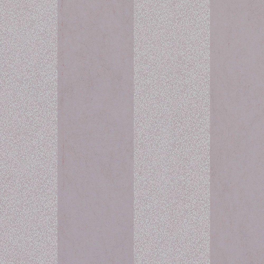 Artisan Stripe Mulberry Wallpaper