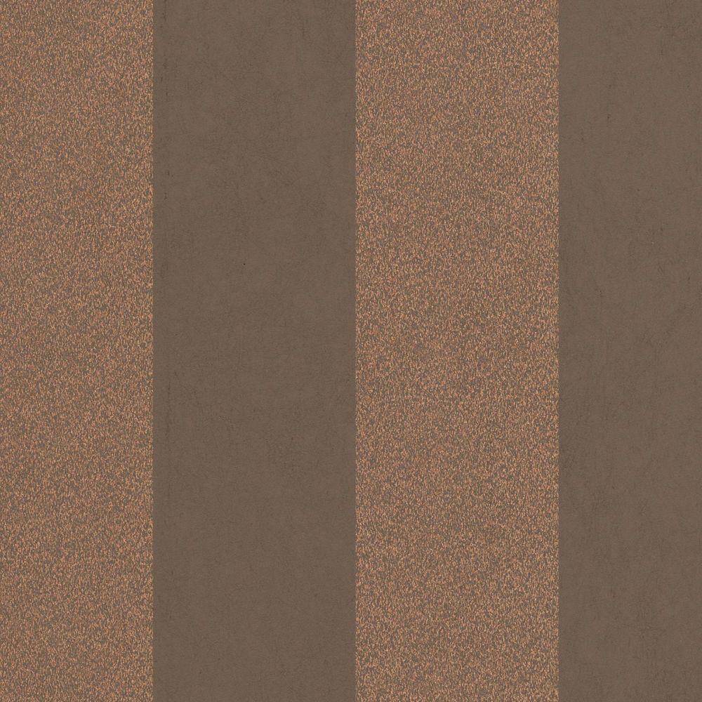 Artisan Stripe Copper Wallpaper