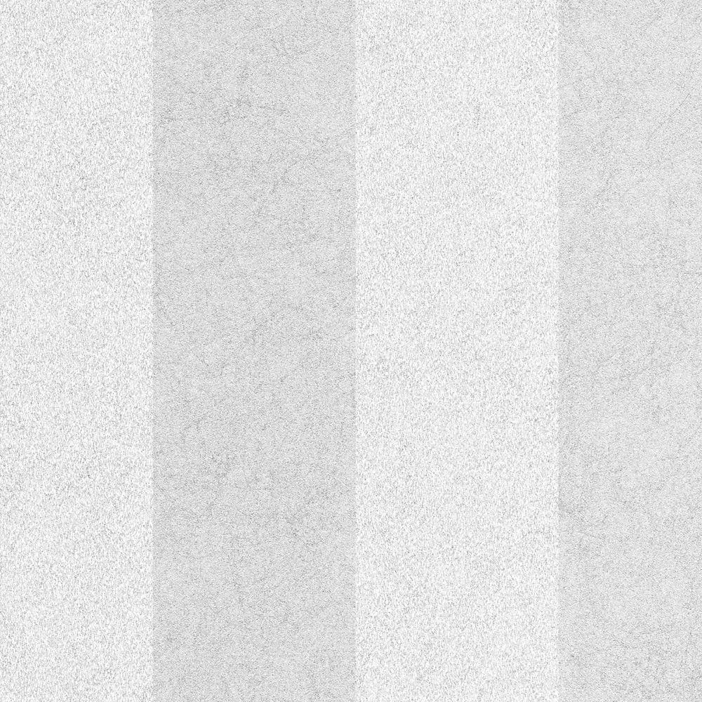 Artisan Stripe Silver/White Wallpaper