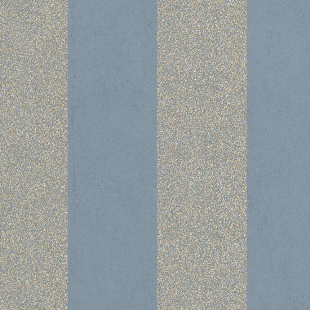 Rayeur artisan Papier Peint Bleu