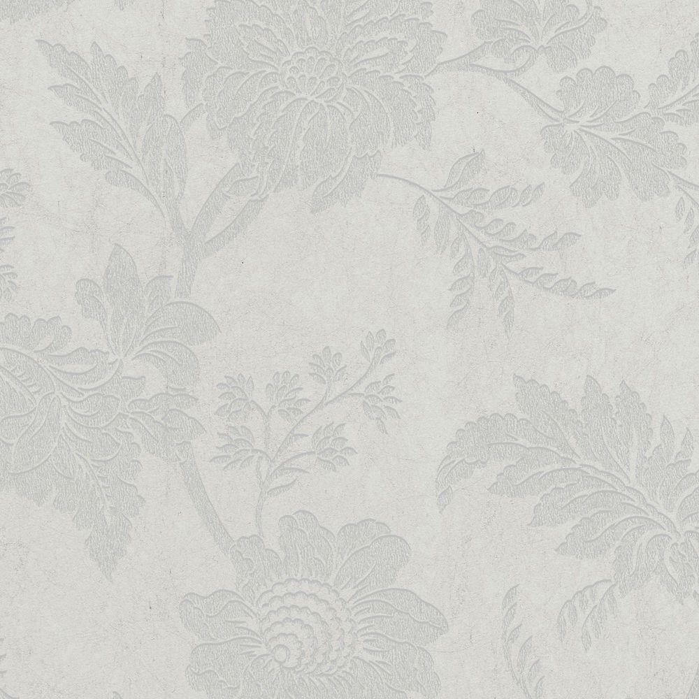 Mystique Dove/Silver Wallpaper