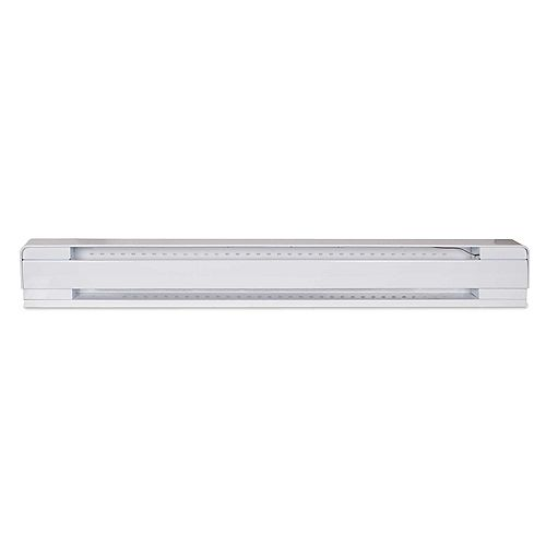 STELPRO 48-inch 1000W 240V Electric Baseboard Heater in White