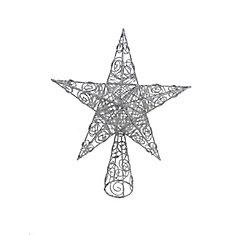 15-inch Star Tree Topper