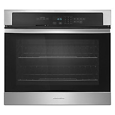 30-Inch Single Electric Wall Oven with Self Cleaning in Stainless Steel