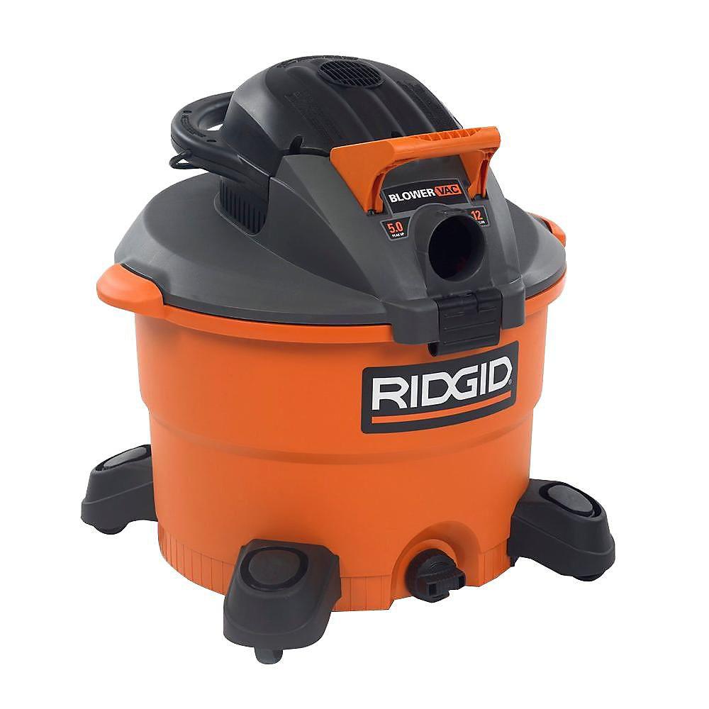 Aspirateur sec/humide de 45,5 litres avec soufflante amovible et trousse de nettoyage de gouttière