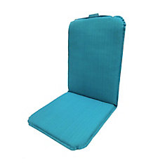 Dining Chair Highback Cushion in Turquoise