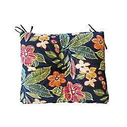 Bozanto Inc. 17 x 18 x 4.5 inch Outdoor Seat Cushion in Floral Multi-Colour