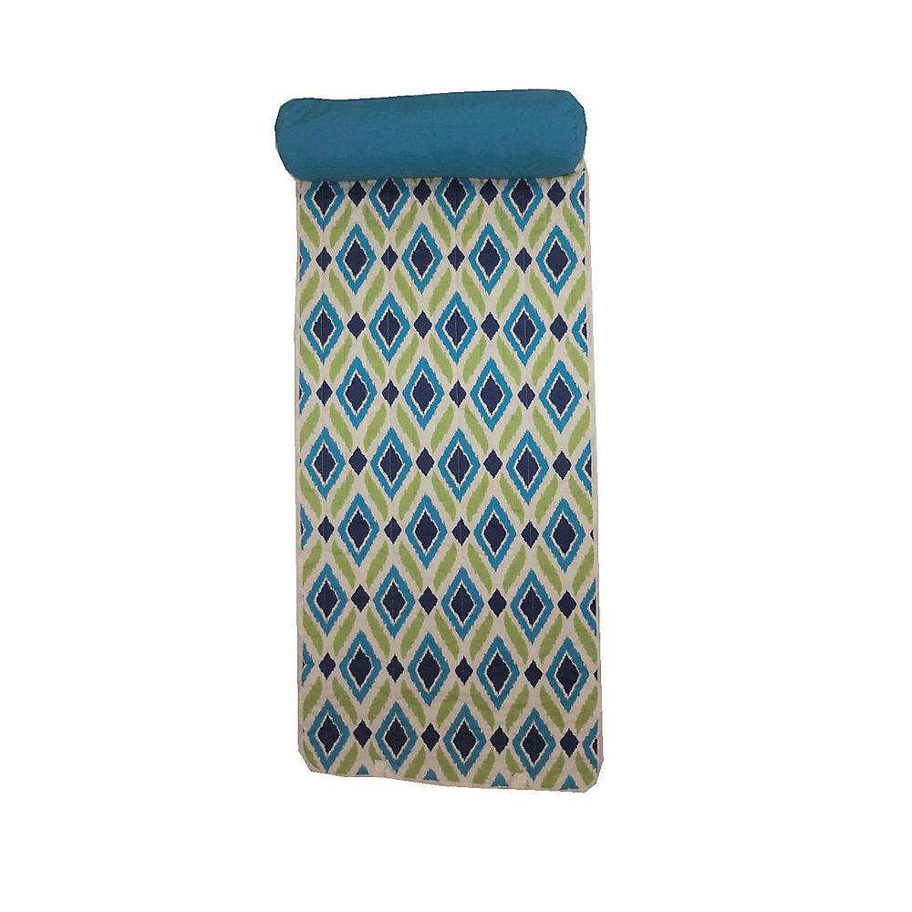 Bozanto Inc Beach Mat With Pillow In Diamond Pattern