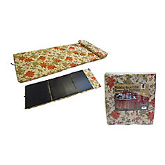 72-inch x 30-inch x 3-inch 3 Floral Pattern All Purpose Mattress