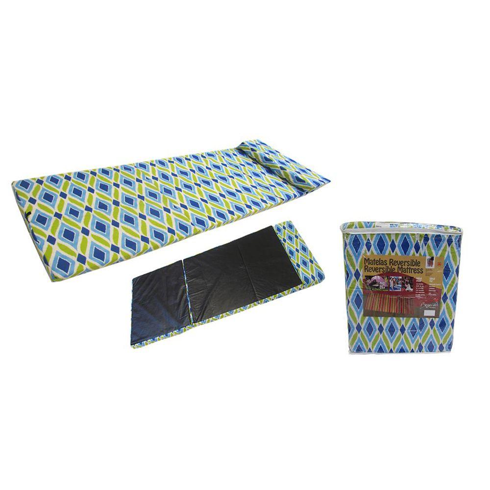 Bozanto Inc. 72-inch x 30-inch x 3-inch 3 Diamond Pattern All Purpose Mattress