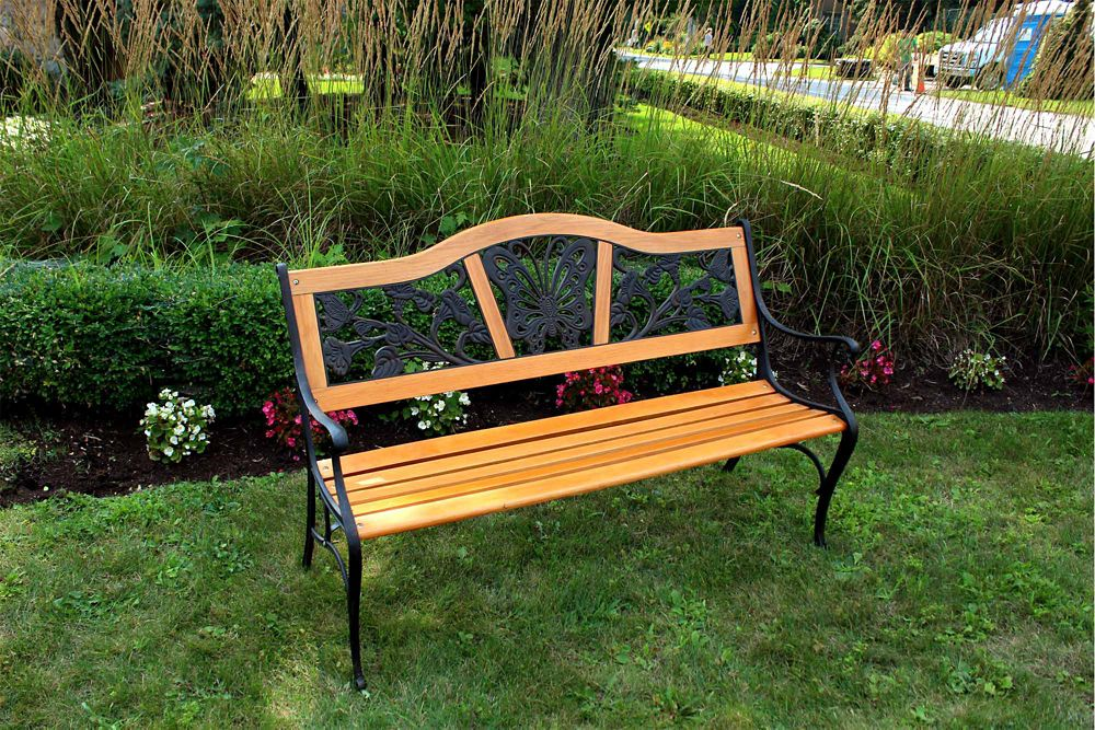 garden outdoor reviews wayfair bench hummingbird pdp metal hearth ca plow