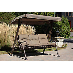 3-Seater Patio Swing
