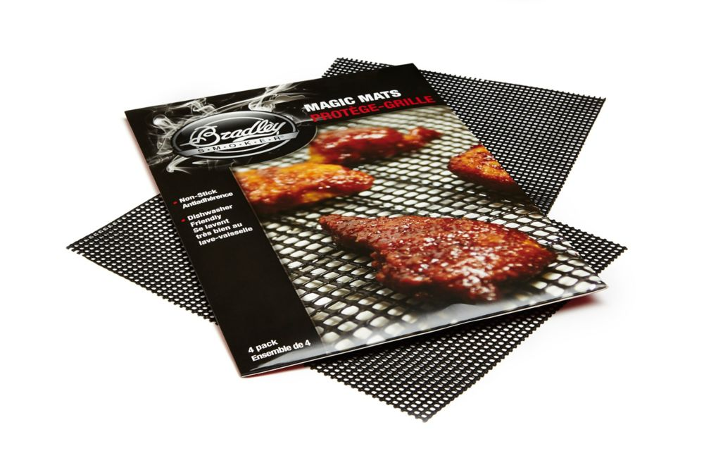 "Bradley ""Magic Mats"" Non-Stick Mats Set/4"