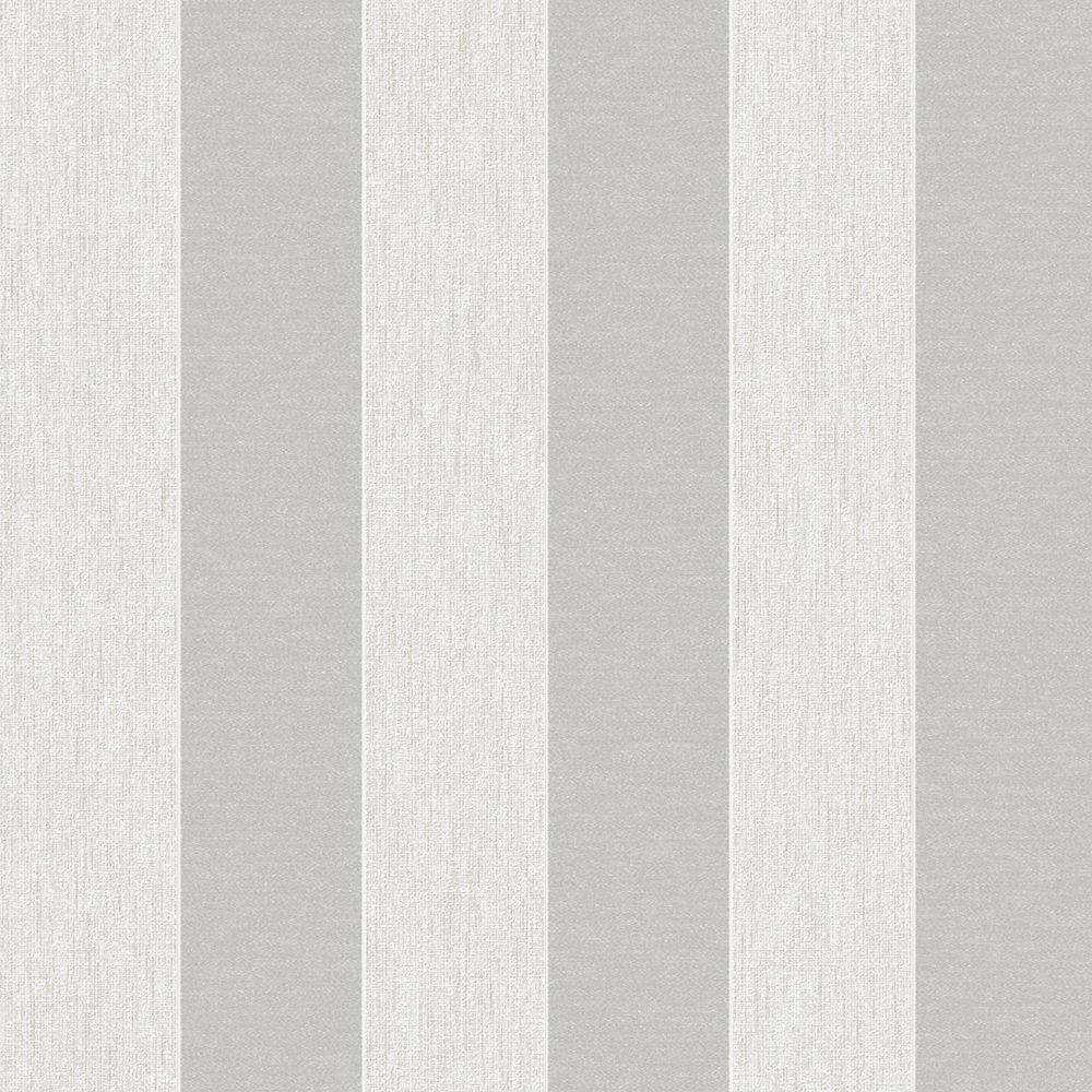 Ariadne White/Silver Midas Wallpaper