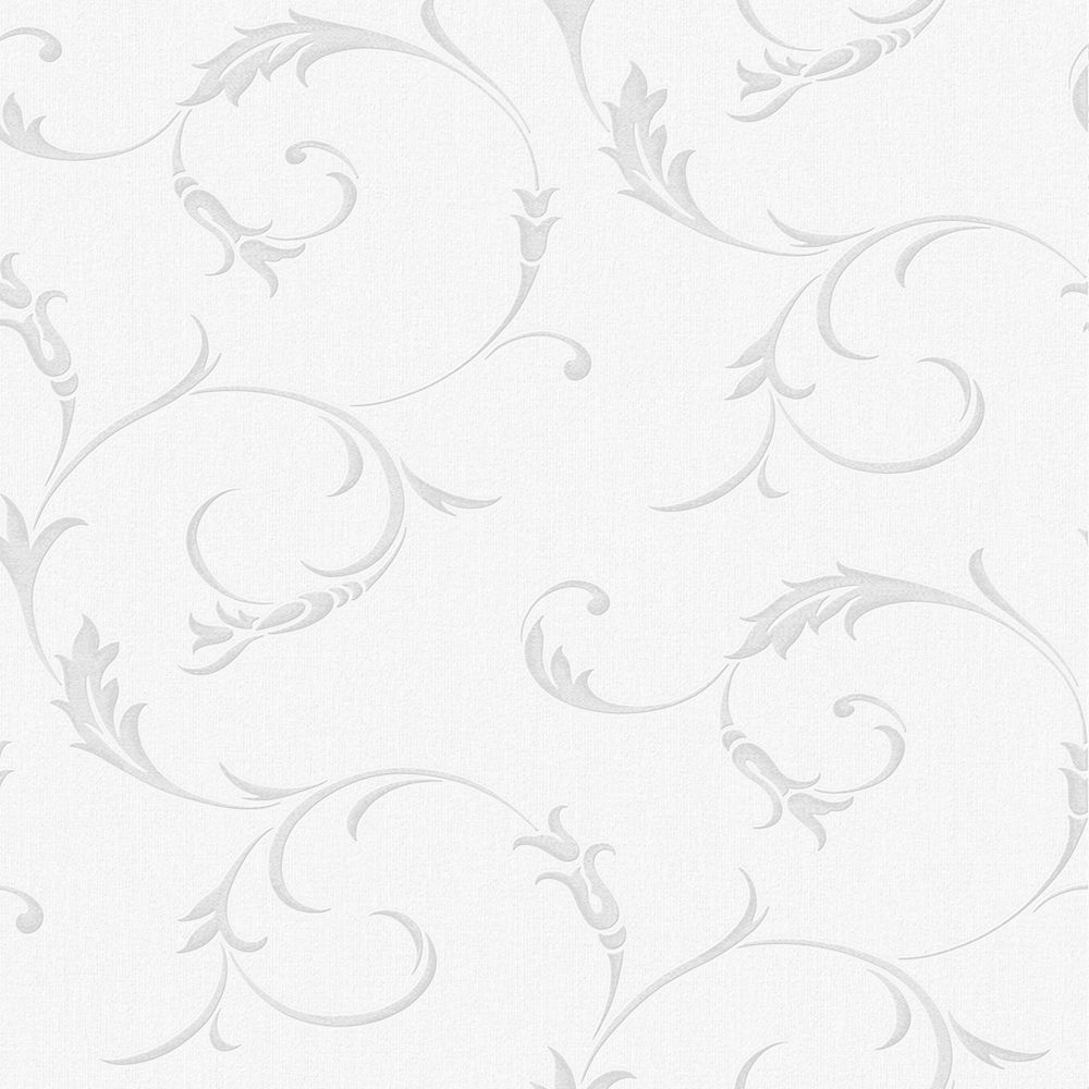 Athena Papier Peint Gris