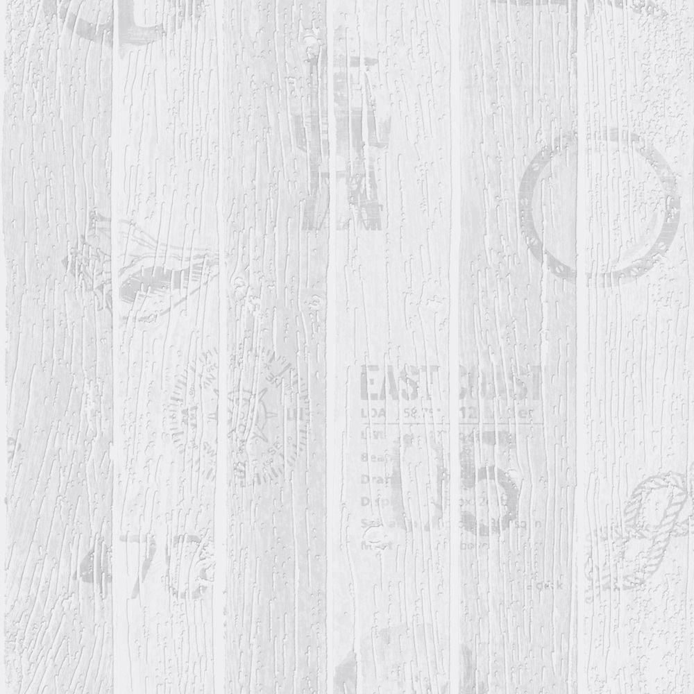 Nautique Papier Peint Gris