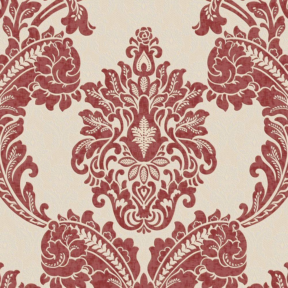 Regent Palais Papier Peint Rouge