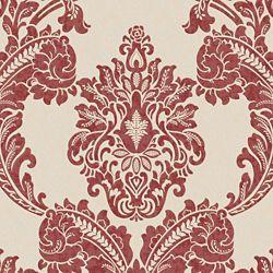 Graham & Brown Regent Papier Peint Rouge/Crème