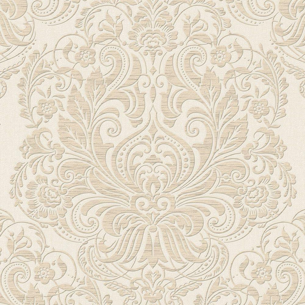 Melody Beige/Gold Wallpaper
