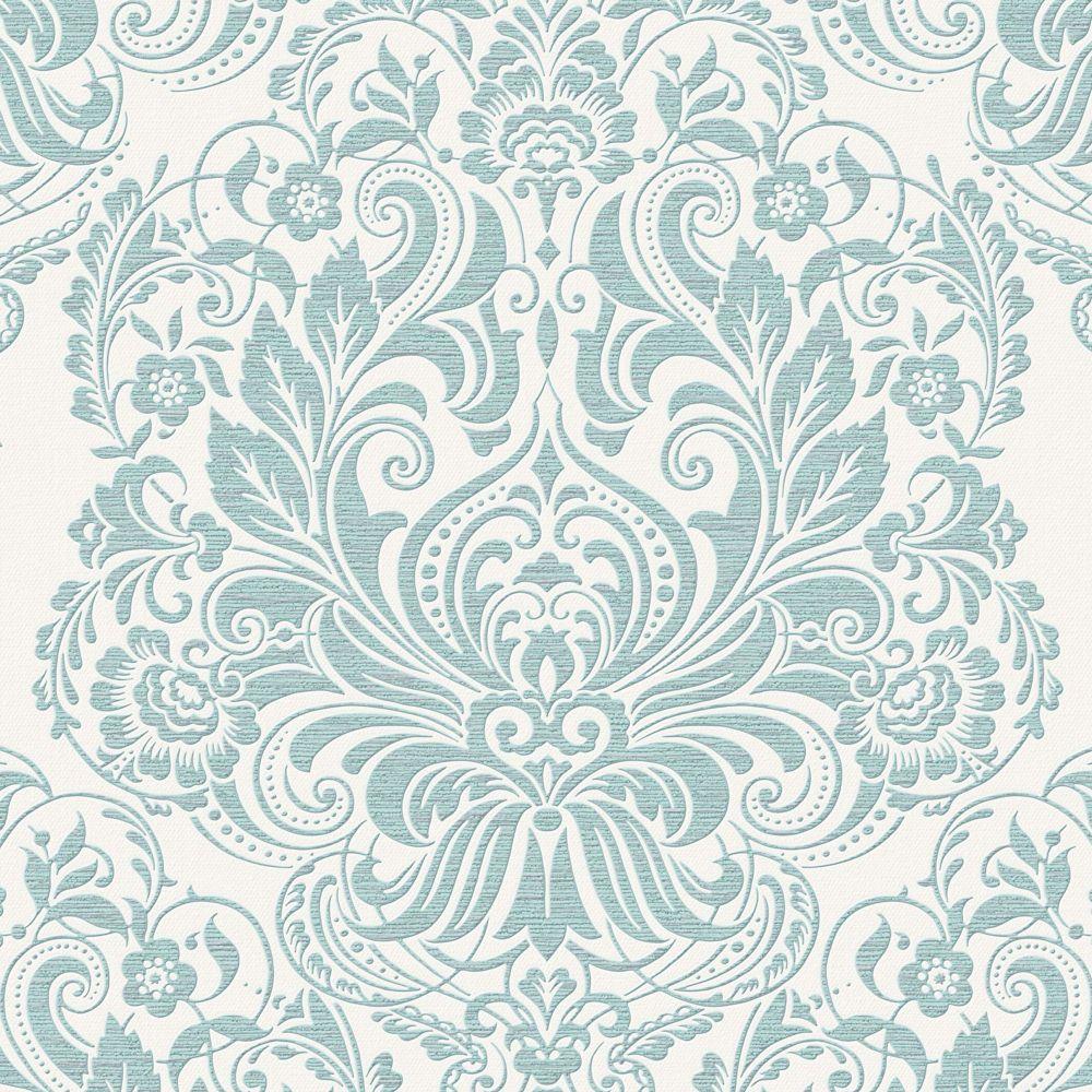 Melody Palais Papier Peint Bleu oef de canard