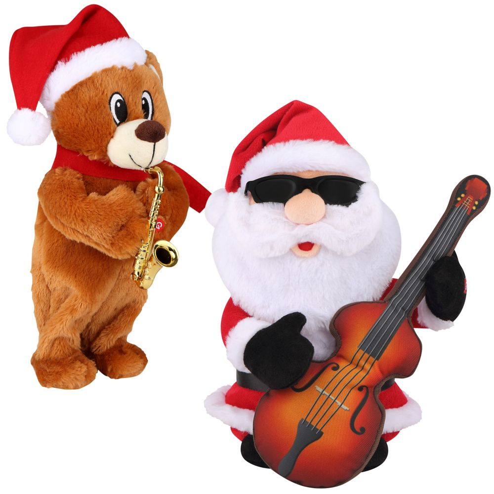Assortiment de 2 sortes de rockeurs « Jingle Bell »