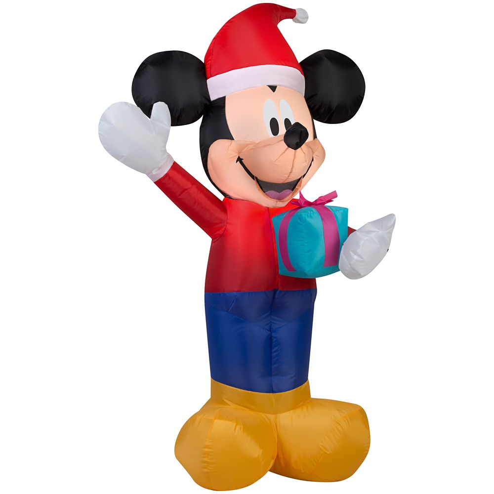 3.5 Foot Inflatable Mickey With Giftbox