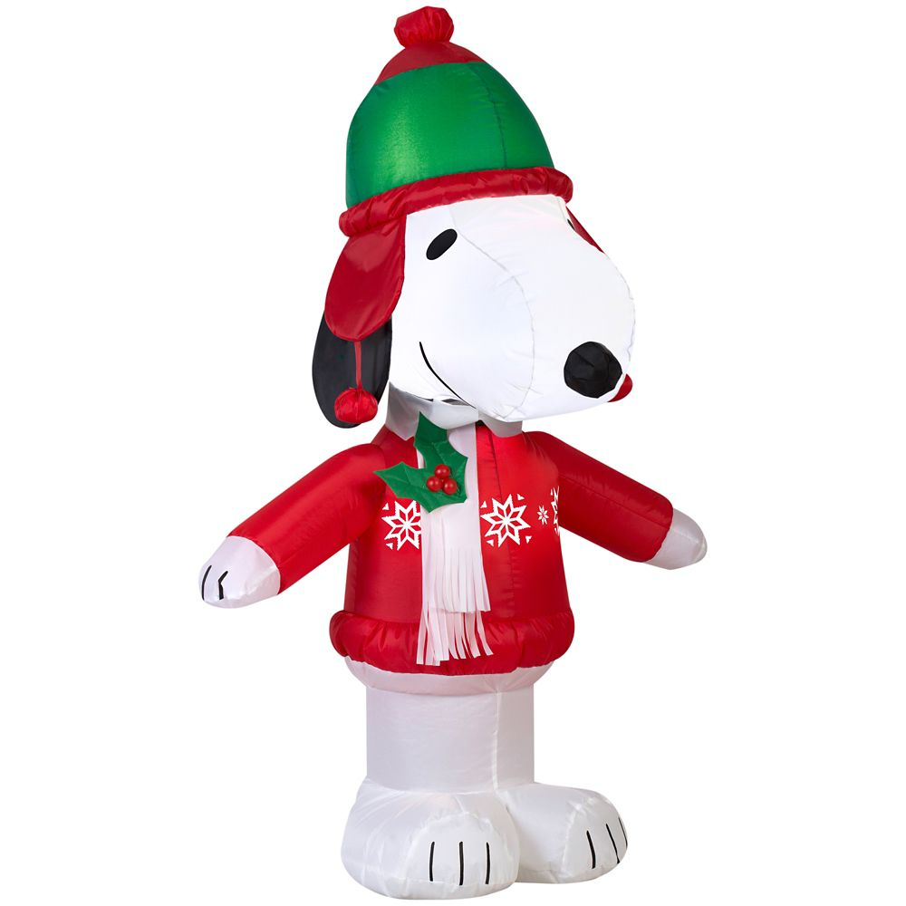 Airblown - Snoopy en habits d'hiver