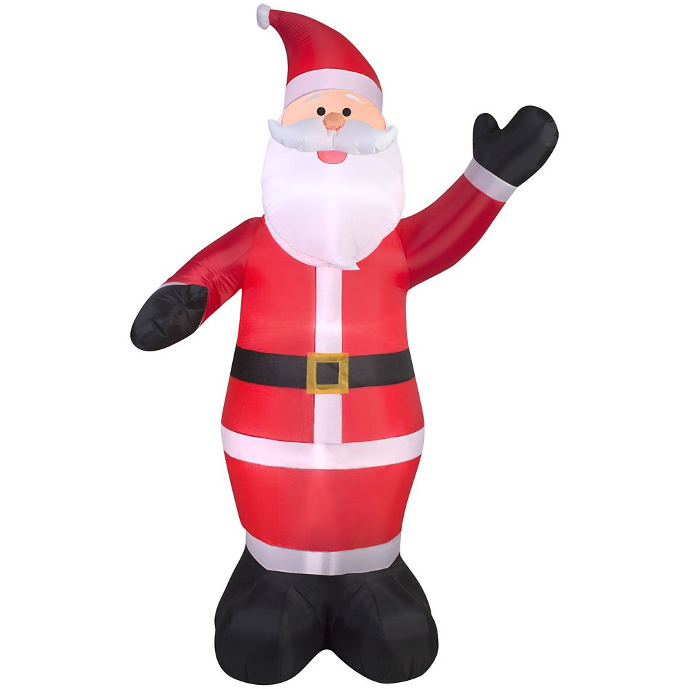 Airblown 9 ft. Inflatable Santa | The Home Depot Canada