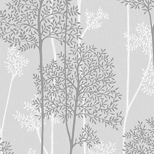 Graham & Brown Grey Eternal Wallpaper