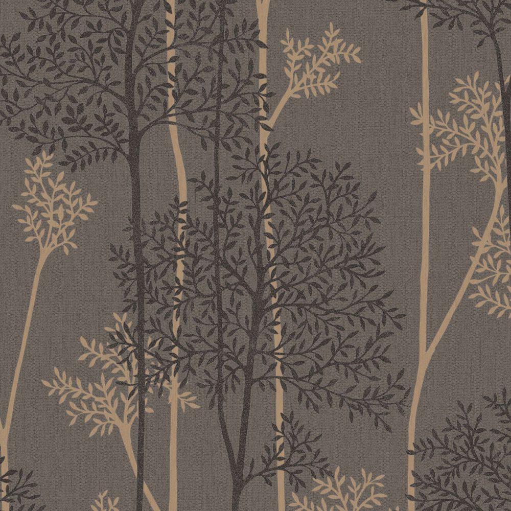 Eternal Chocolate/Rose Gold/Black Wallpaper