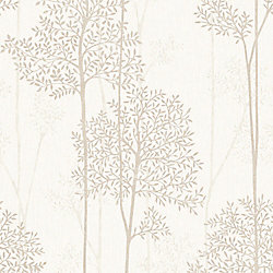 Graham & Brown Cream and Gold Eternal Wallpaper