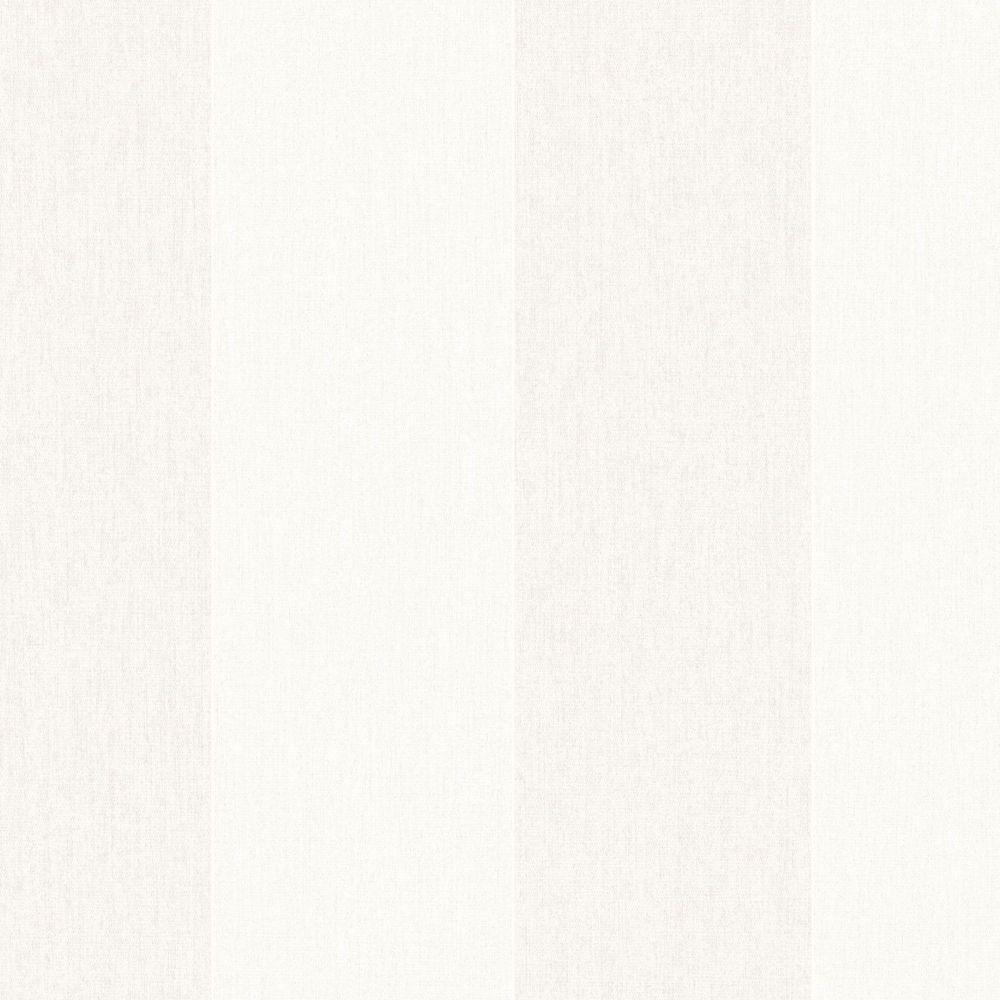 Calicot rayé Innocence Papier Peint Crème