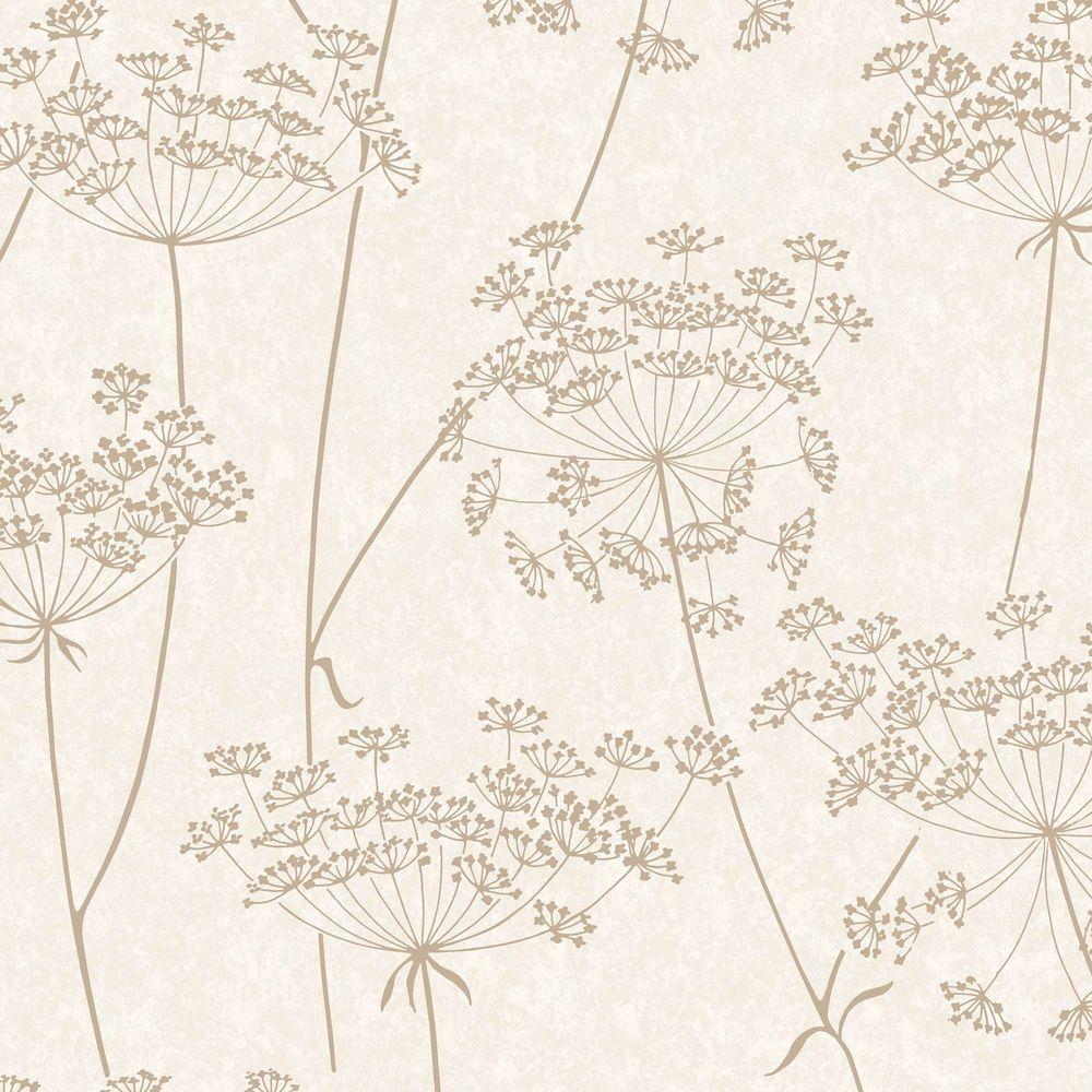 Aura Beige/Cream Wallpaper