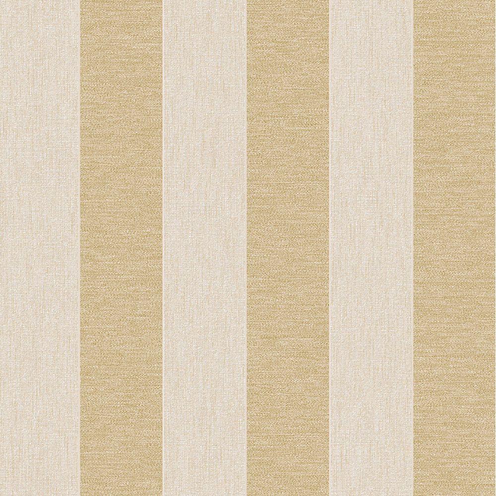 Ariadne Cream/Gold Wallpaper