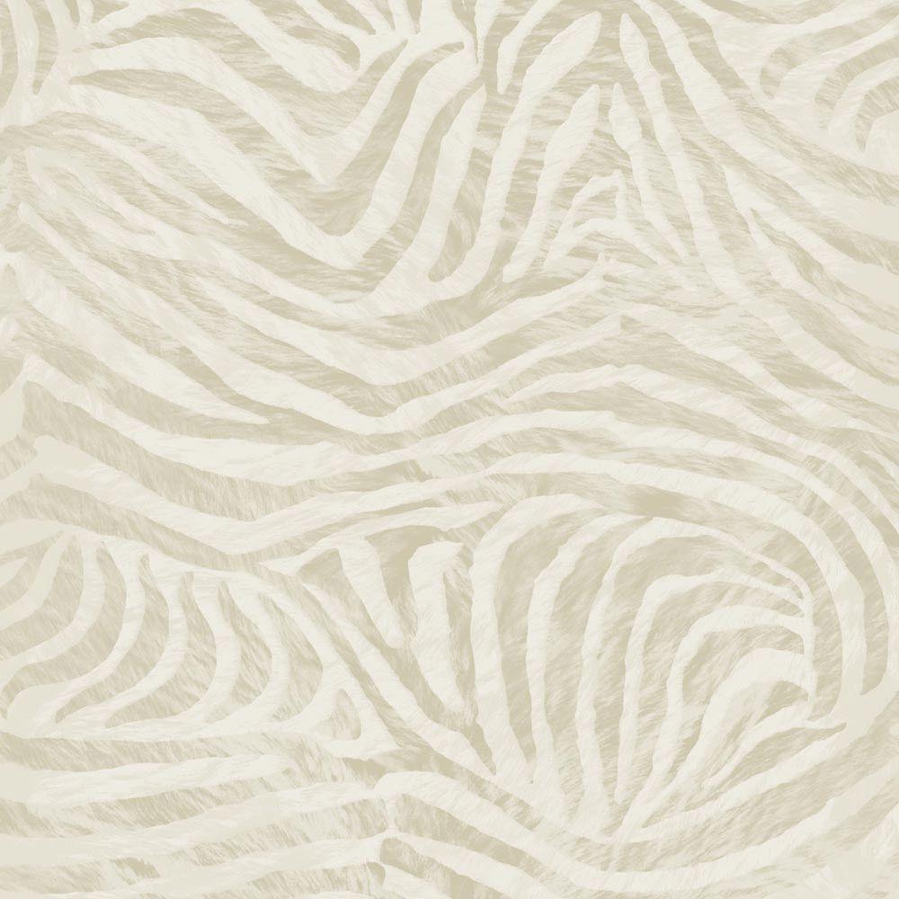Zèbre Papier Peint Taupe