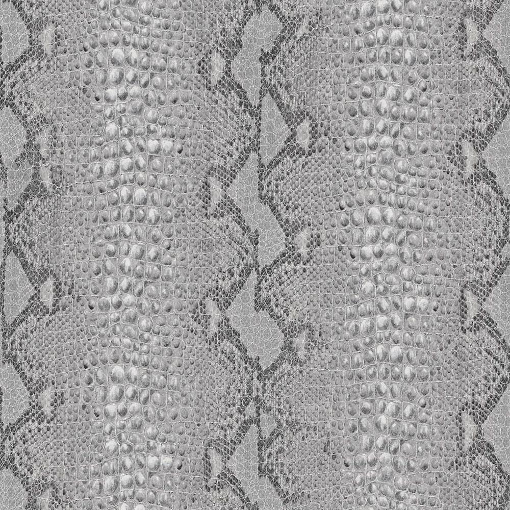 Peau de Serpent papier peint Gris