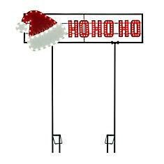 Super Tech Ho-Ho-Ho Led Sign