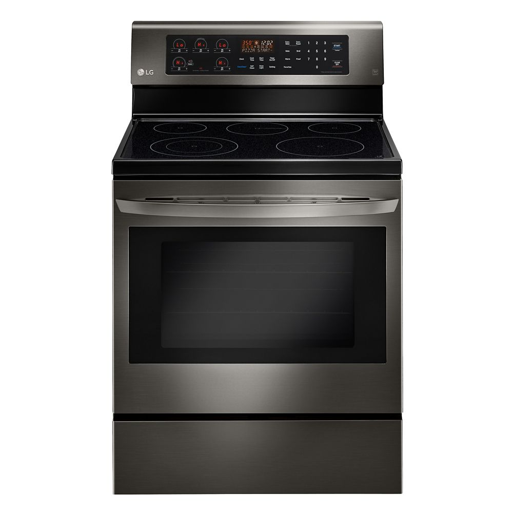 6.3 cu.Feet Electric Range with True Convection