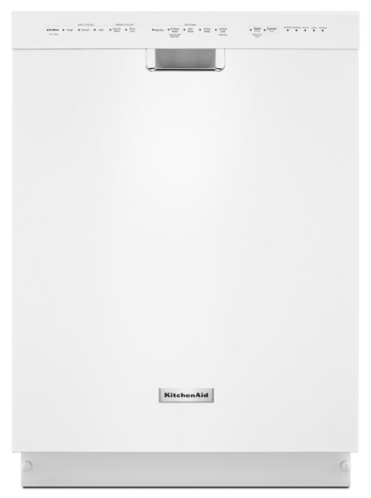 Lave-vaisselle KitchenAid<sup>®</sup> 24 po, 6 programmes/5 options, poignée encastrée