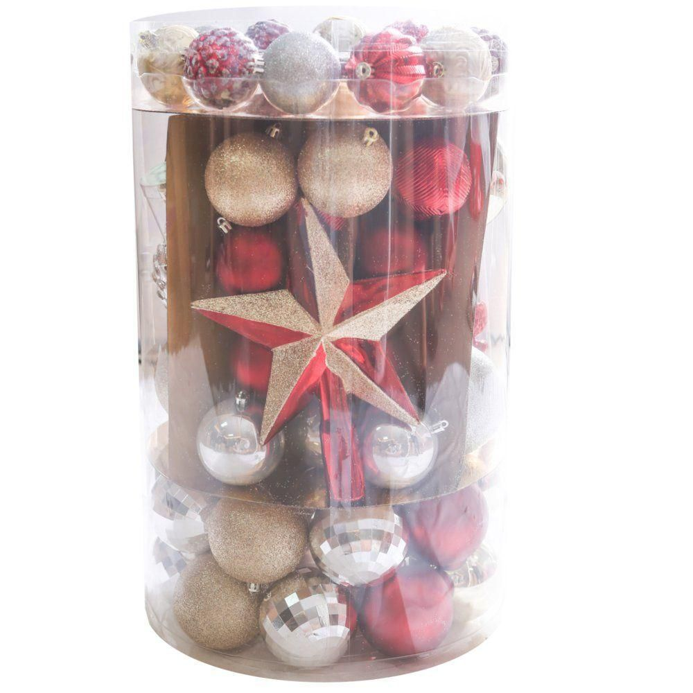 WT 101ct Tube of Ornaments 60mm