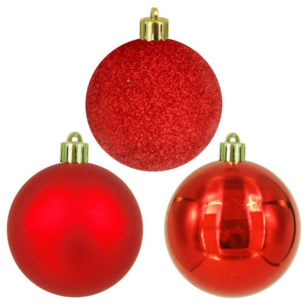 18ct 60mm Ornament - Red