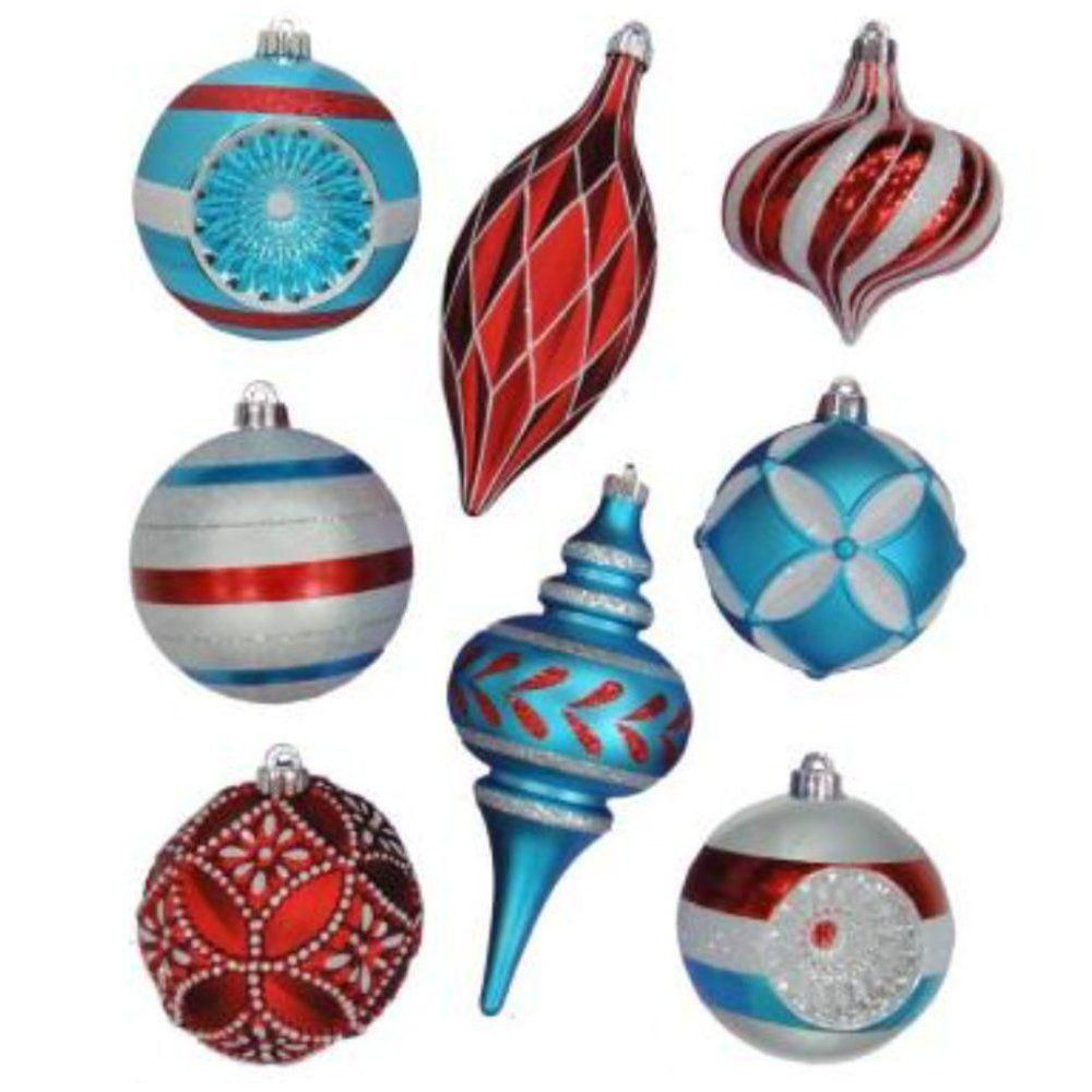 18ct 60mm Ornament - Blue