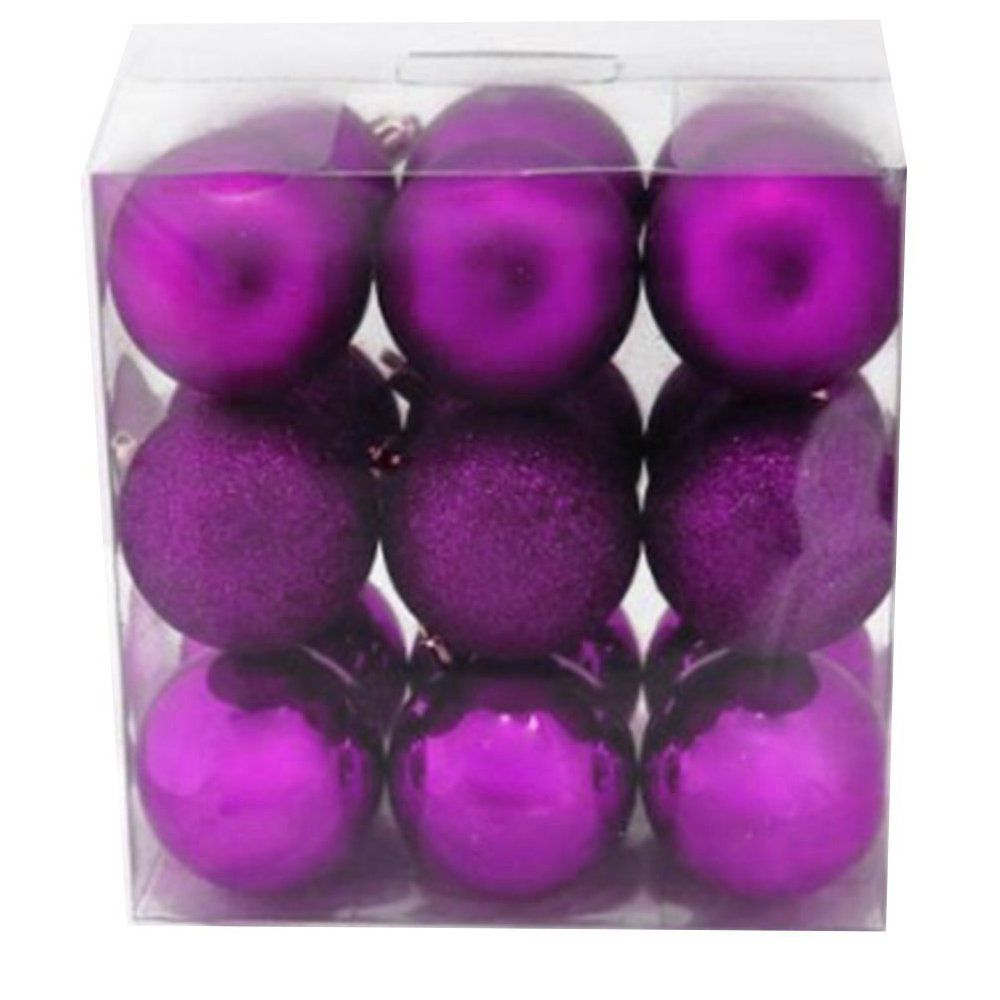 18ct 60mm Ornament - Purple