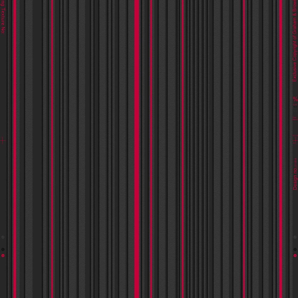 Rayeur maestro Illusions Papier Peint Noir & Rouge